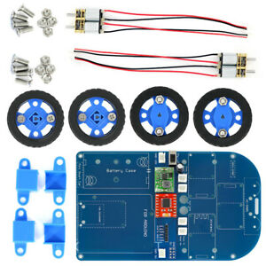 4wd Bluetooth Controlled Smart Robot Car Kit With N20 Gear Motor For Arduino