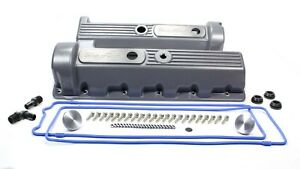 Trick Flow Specialties Valve Cover Kit Ford 4 6 Motor 11 bolt Cast Alm
