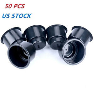 50pcs Recessed Drop In Plastic Cup Drink Can Holder With Drain For Boat Rv Etc