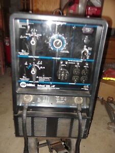Miller Bobcat 225nt Welder generator Pre Owned Works Great Pick up Only