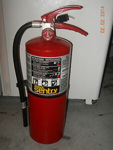 Ansul Sentry Model A10h Fire Extinguisher 10 Lb Abc Dry Chemical Free Local P u