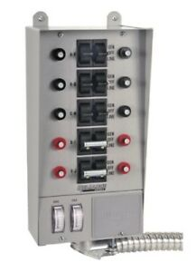 New Reliance Controls Corporation Pro tran 10 circuit Indoor Transfer Switch