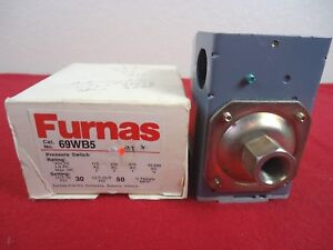 Furnas 69wb5 Pressure Switch New Old Stock