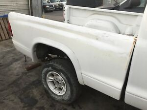 1997 2004 Dodge Dakota Pickup Truck Bed Oem White 6 6 Box