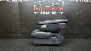 2002 Dodge Ram 1500 Front Center Stationary Console Seat Dark Slate Gray Dv