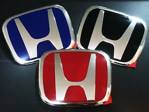 Jdm Honda Crv Civic City Accord Odyssey Crz Jazz Red Blue Black Badge Emblem