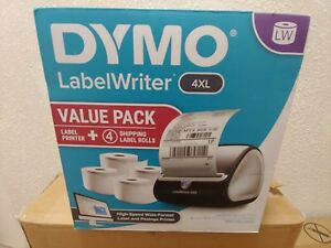 Dymo Labelwriter 4xl Label Thermal Printer New In Box With Xtra Labels In Bundle