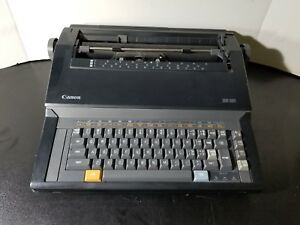 Canon Es 20 Typewriter Tested Working Vintage