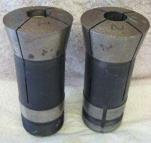 2 Hardinge 20c Collet E Emergency 1 4 Pilot Hole Lathe Mill Tool Holder