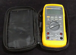 Fluke 28 Ii True Rms Multimeter Ip 67 Industrial Digital 28ii W Case