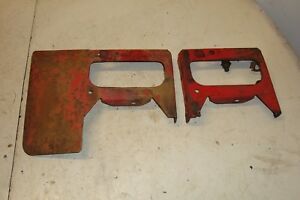 1955 Ford 860 Tractor Gas Tank Mounting Brackets 600 800