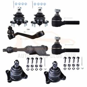8pcs Front Ball Joints Pitman Arm Idler Arm Kit For 1989 1995 Toyota Pickup