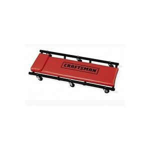 Craftsman 40 In Creeper Roller Seat Slide Glide Car Repair Auto Mechanics Shop