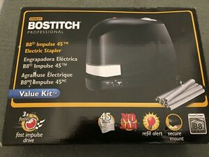 Bostitch Professional B8 Impulse 45 Electric Stapler Value Kit Brand New