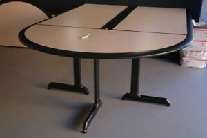 Commercial Modular Conference Table W Rubberized Edge 10 Ft Or 9 Ft Lengths