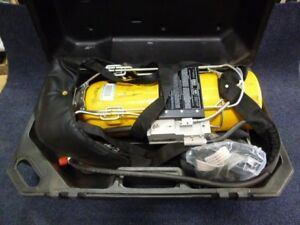 Scott Air pak 2 2 Scba Kit 2216 Psi With Full Face Mask 30 Min With Carry Case