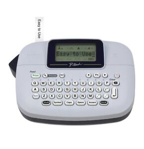 2 Pack Brother P touch Handy Label Maker Ptm 95 Blue Gra Lowest Price Free Ship