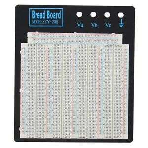 Solderless Breadboard Plate 3220 Tie points Test Circuit Board Zy 208