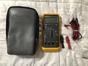 Fluke 87 Iii Trms Multimeter Excellent Screen Protector Soft Case