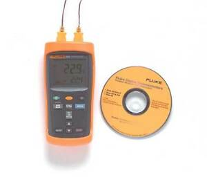 Fluke Fluke 52 2b Thermocouple Thermometer 2 In k J T E