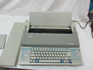 Royal Signet 40 Electric Typewriter With Correction Beep Tested