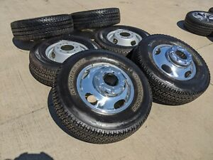 17 Ford F 350 Dually 2017 2018 Rims Wheels Tires Oem Alloy 2014 2015 2016 2019