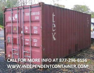 20 Cargo Container Shipping Container Storage Container In Jacksonville Fl