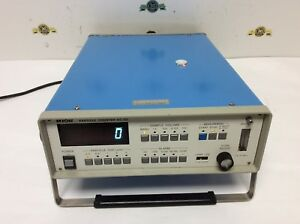 Rion Particle Counter Model Kc 03 Test Equipment