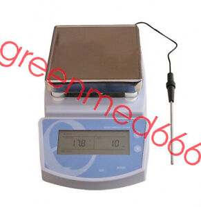 Digital Hot Plate Magnetic Stirrer Electric Heating Mixer Temperature Temp Lab A