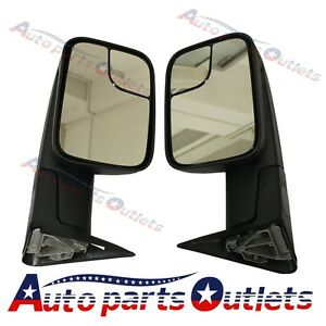 Left Right 1994 2001 Dodge Ram 1500 94 02 2500 3500 Tow Flip Up Manual Mirrors