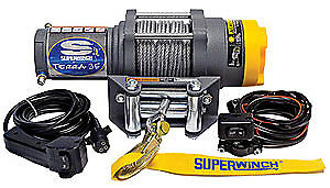 Super Winch Atv 3500 3500 Winch W roller Fairlead