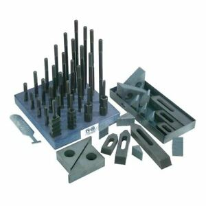 Te co 50 Piece Deluxe Clamping Set 20212 Style Heavy Duty Number Pieces 50 Stud