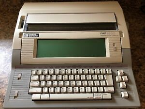 Smith Corona Typewriter word Processor Pwp 3600 Personal Work Processor