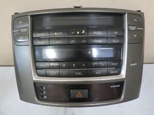 For Parts 06 07 08 Lexus Is250 Is350 Cd Asl P Sel Radio Player Climate Control