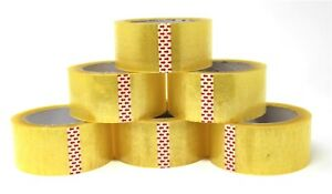 Heavy Duty Bopp Packing Tape 2 x 110 Yards 1 6 12 24 36 Pack