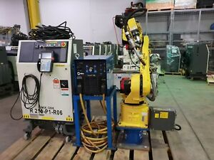 Fanuc Arcmate 120ib Welding Robot W Rj3ib Controller tested Low Hours Complete