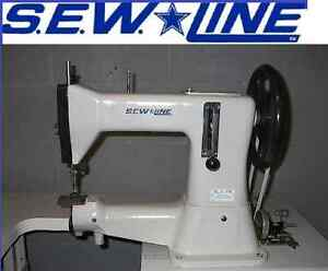 Sewline Sl 5 1r New Hd Leather Machine Head Only Industrial Sewing Machine