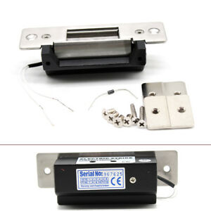 Lock Release Electric Strike For Door Entry Access Control Systems 12v Ac Usa