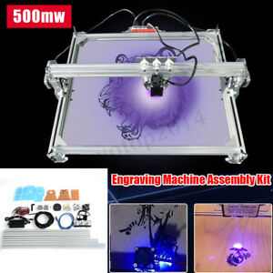 65x50cm Laser Engraving Cutting Cutter Marking Printer Logo Machine Kit 500mw
