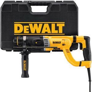 Dewalt 8 5 Amp 1 1 8 In Corded Sds plus D handle Concrete masonry Rotary Drill