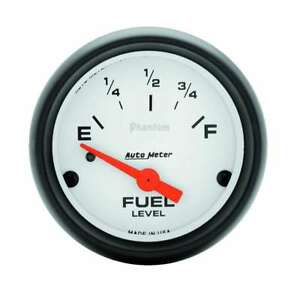 Auto Meter Phantom 2 1 16in Fuel 65 Gm