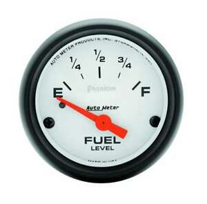 Auto Meter Phantom 2 1 16in Fuel Pre 65 Gm