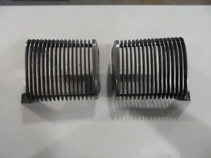 1970 Mercury Cougar Xr 7 Chrome Grille Front Bumper Side Grilles Pair Left Right