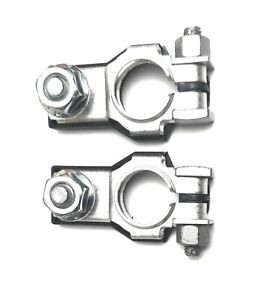 Positive Negative Battery Terminals Two M8 Nuts Fits Gm 92199462 92199463
