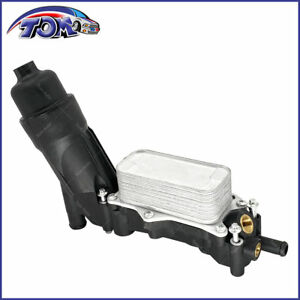 New Oil Filter Housing Adapter With Oil Cooler Fits Jeep Dodge Chrysler Ram 36 V6
