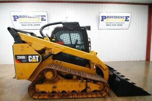 2015 Cat 299d2 Xhp Cab Skid Steer Track Loader 110 Hp Ac heat High Flow Aux