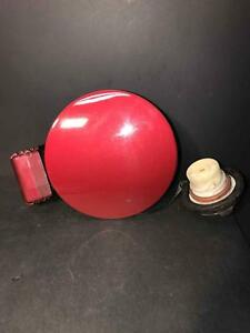 2005 2006 Santa Fe Fuel Tank Door Gas Cap Lid Cover Canyon Red Tr Free Shipping
