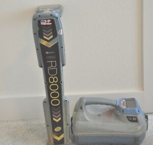 Spx Radiodetection Rd8000 Pxl Cable Pipe Locator W Tx 10 Transmitter Rd 8000