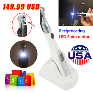 Dental Led Endo Motor Root Canal Treatment 16 1 Reduction Contra Angle 149 99