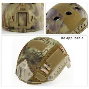 Military Heavy Thick Fast Tactical Helmet Airsoft Grey Combat Gear Cover Tool